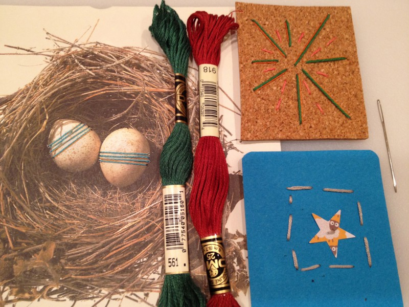 Paper, Tape, and Fiber for 6-8s: Tuesdays at 3:30 (Spring 2021)