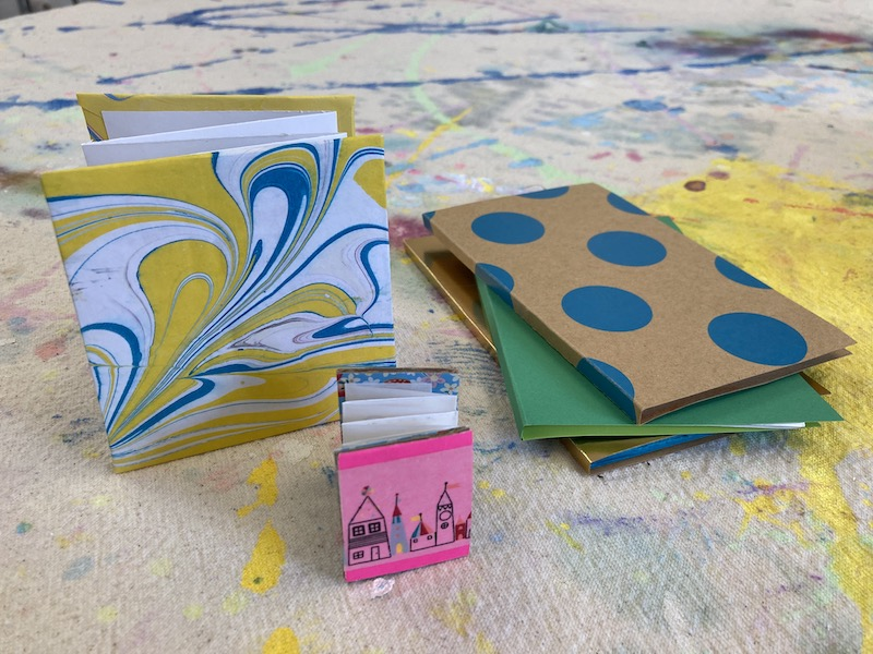 Accordion Books and Beads for 9-12s: Thursdays at 3:30 (Late Fall 2021)